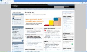 IBM Support Portal - Cognos
